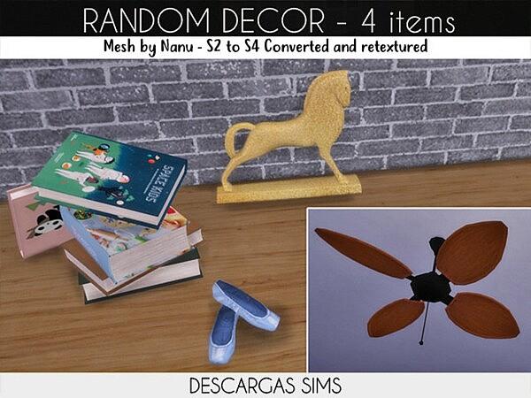 Random Decor sims 4 cc