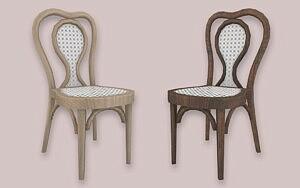 Rattan Dining Chair sims 4 cc