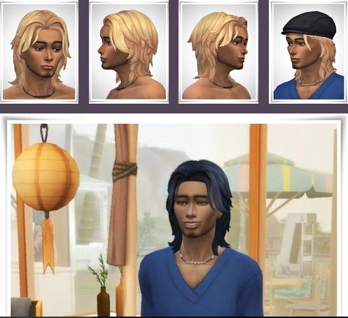 Rene Hair sims 4 cc
