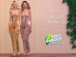 Retro Jumpsuit sims 4 cc