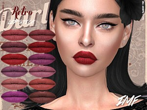 Retro Lipstick N.330 sims 4 cc
