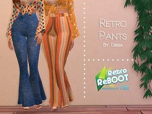 Retro Pants sims 4 cc