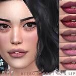 Retro ReBOOT 50s Lipstick sims 4 cc