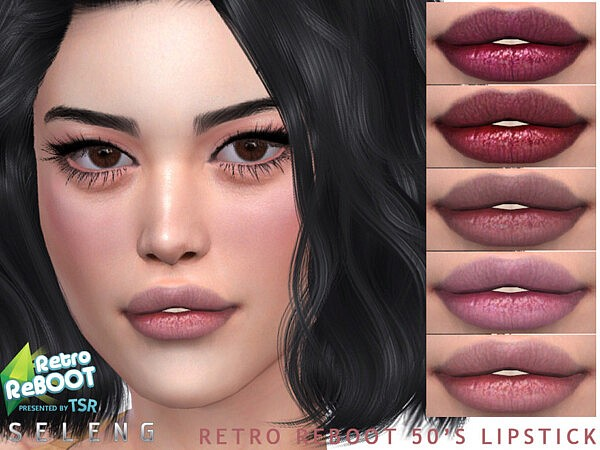 Retro ReBOOT 50s Lipstick by Seleng from TSR