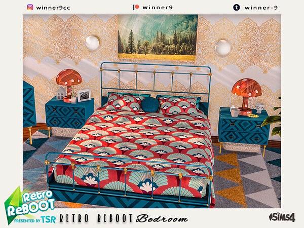 Retro ReBOOT Bedroom