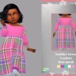 Retro ReBOOT Toddler Dress Lucia sims 4 cc