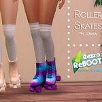 Retro Rollerskates Set sims 4 cc