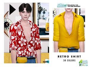 Retro Shirt sims 4 cc