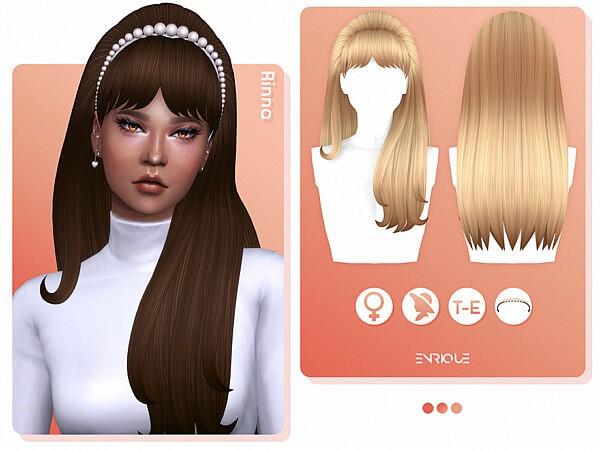 Rinna Hairstyle sims 4 cc