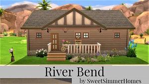 River Bend sims 4 cc