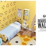 Roarsome Walls sims 4 cc