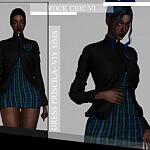 Rock Chic VI Dress Pricila sims 4 cc