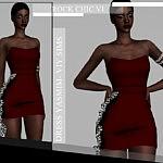 Rock Chic VI Dress Yasmim sims 4 cc