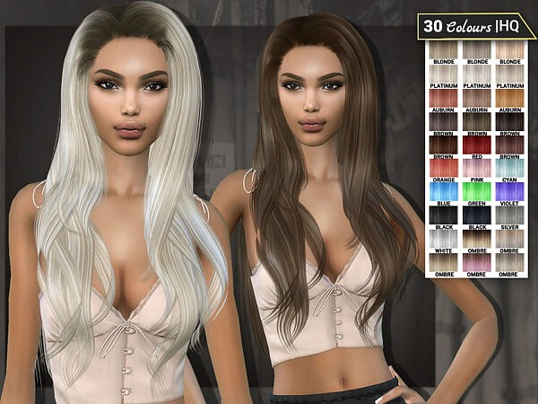 Ronya Hair Sims 4 cc