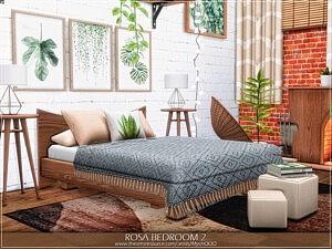 Rosa Bedroom 2 sims 4 cc
