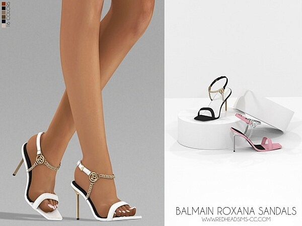 Roxana Sandals from Red Head Sims