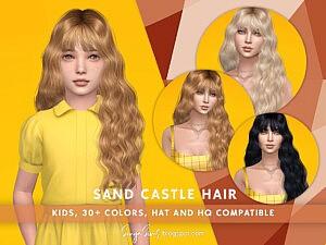 Sand Castle Hair sims 4 cc1