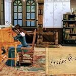 Scribe Career sims 4 cc