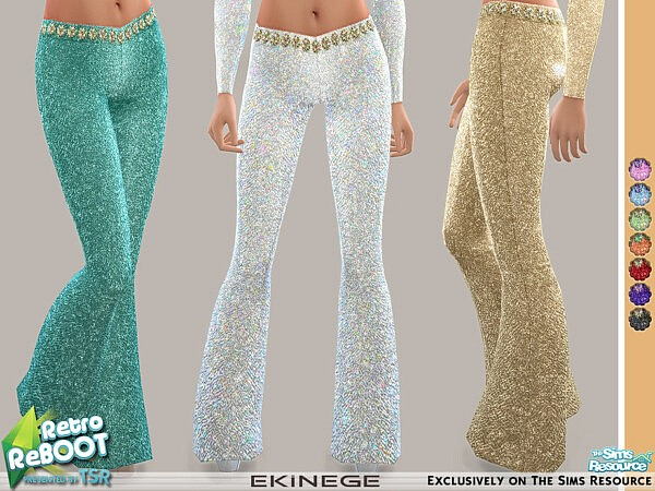 Sequin Pants sims 4 cc