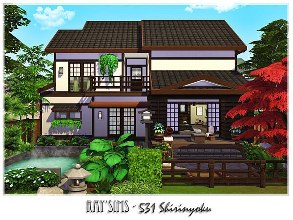 Shirinyoku house sims 4 cc