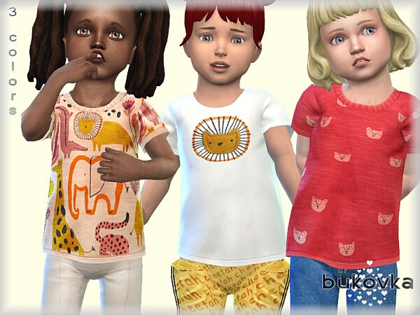 Shirts For Girls sims 4 cc
