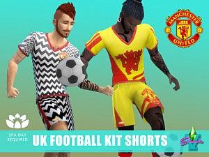 SimmieV UK Footie Kit Shorts