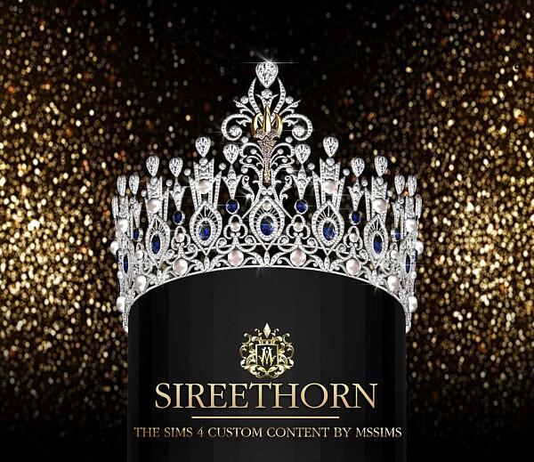 Sireethorn Crown sims 4 cc