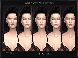 Skin 21 Overlay sims 4 cc
