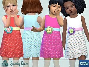 Smarty Dress sims 4 cc