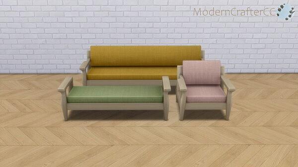 Snog Lounge Set sims 4 cc