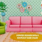 Sofa and Chair sims 4 cc