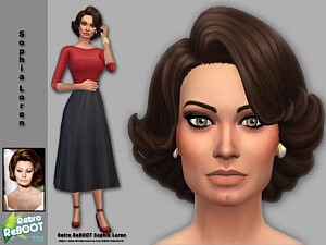 Sophia Loren sims 4 cc