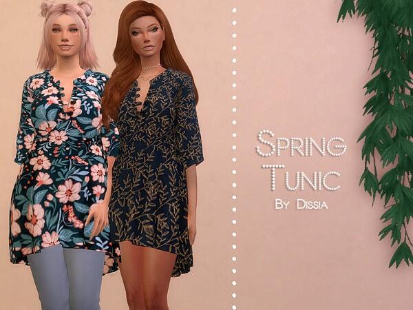 Spring Tunic sims 4 cc