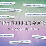Storytelling Socials sims 4 cc