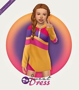 Sweat Dress sims 4 cc