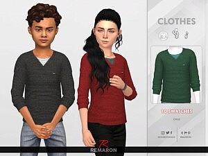 Sweater 01 sims 4 cc