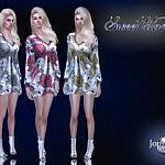 Sweet lilana dress sims 4 cc