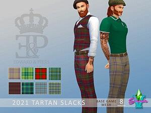 Tartan Slacks sims 4 cc