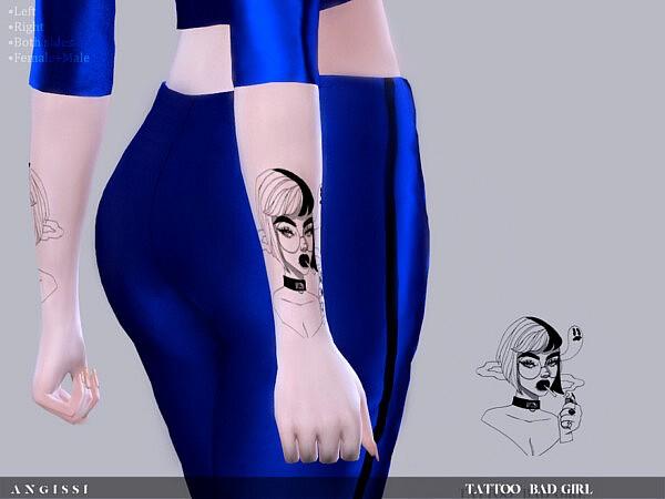 Tattoo Bad girl sims 4 cc