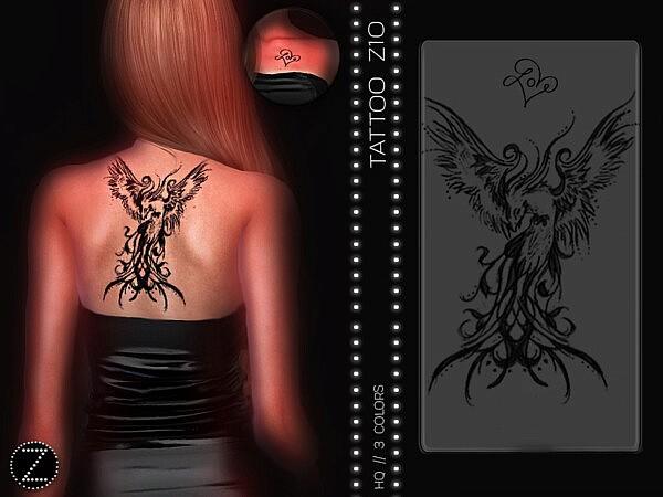 Tattoo Z10 sims 4 cc
