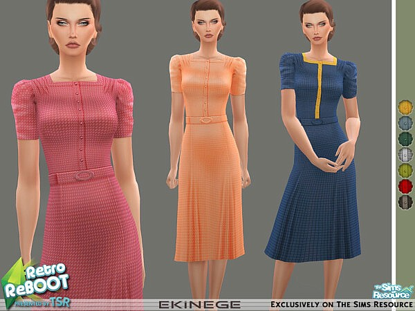 Tea Dress sims 4 cc