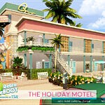 The Holiday Motel sims 4 ccc
