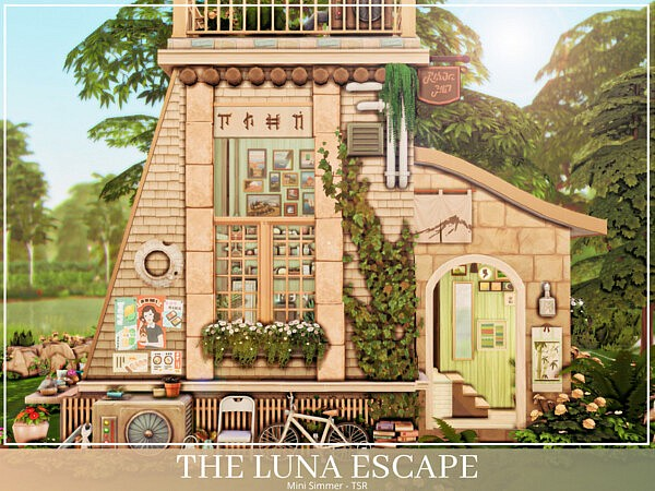 The Luna Escape sims 4 cc