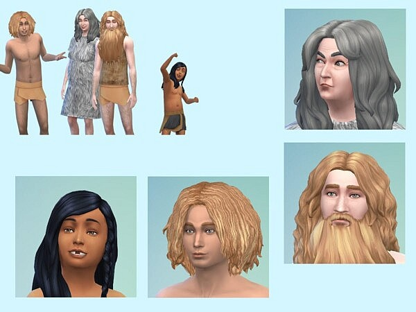 The Saeoe Family sims 4 cc