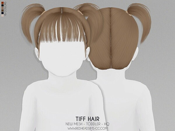 Tiff Hair T from Red Head Sims