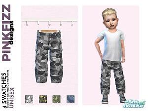 Toddler Animal Camo Pants sims 4 cc