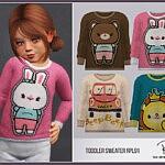 Toddler Sweater sims 4 cc