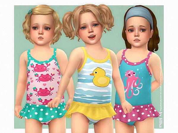Toddler Swimsuit P14 sims 4 cc