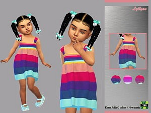 Toddler dress Julia Sims 4 CC
