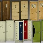 Toilet Doors sims 4 cc